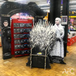 Théâtralisation Point de Vente Game of Thrones AFC Marketing Point de Vente