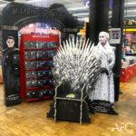 Théâtralisation Point de Vente Game of Thrones AFC Marketing Point de Vente