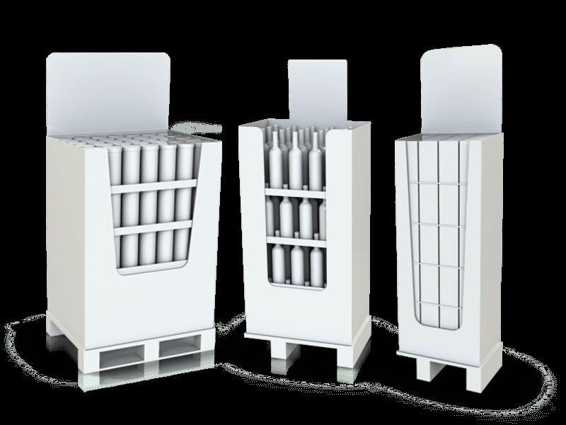 AFC PLV Box Palettes